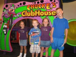 Chuck E Cheese.